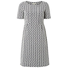 Buy White Stuff Sally Dress, Blue/White Online at johnlewis.com