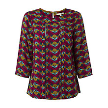 Buy White Stuff Swinging Petal Top, Multi Online at johnlewis.com