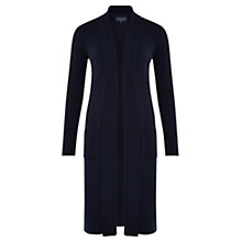Buy Viyella Merino Wool Extra Long Cardigan, Navy Online at johnlewis.com
