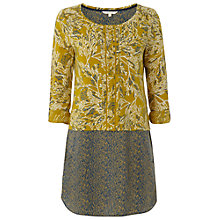 Buy White Stuff Twist Tunic, Yellow Online at johnlewis.com