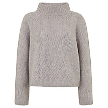 Buy Hobbs Vicky Sweater, Soft Blue Online at johnlewis.com