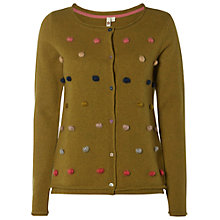 Buy White Stuff Wilderness Spot Cardigan, Green Online at johnlewis.com