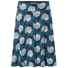 Buy White Stuff Twist Again Jersey Skirt, Teal Online at johnlewis.com