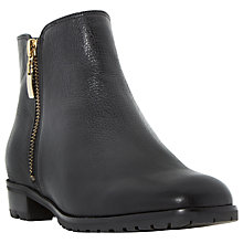 Buy Dune Porta Low Block Heeled Ankle Boots Online at johnlewis.com