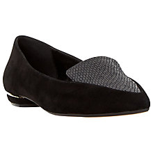 Buy Dune Addison Flat Toe Pointed Loafers Online at johnlewis.com