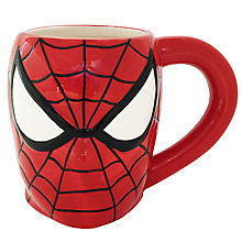 Buy Marvel 3D Spider-Man Mug, Red Online at johnlewis.com