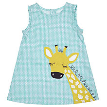 Buy John Lewis Baby Giraffe Pinafore Dress, Multi Online at johnlewis.com