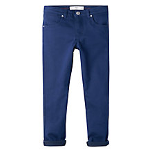 Buy Mango Kids Girls' Skinny Cotton Trousers Online at johnlewis.com