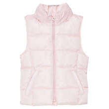 Buy Mango Kids Girls' Water Repellent Quilted Gilet Online at johnlewis.com