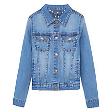 Buy Mango Kids Girls' Denim Jacket Online at johnlewis.com