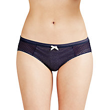 Buy Heidi Klum Intimates Leise Bikini Briefs, Evening Blue / Vanilla Online at johnlewis.com
