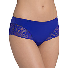 Buy Triumph Amourette Spotlight Hipster Briefs, Blue Storm Online at johnlewis.com