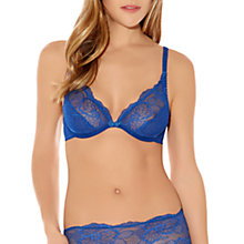 Buy Wacoal Vision Lace Traingle Bra, Brilliant Blue Online at johnlewis.com