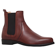 Buy Carvela Splash Leather Chelsea Ankle Boots Online at johnlewis.com