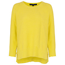 Buy French Connection Candy Knit Jumper, Acid Blonde Online at johnlewis.com