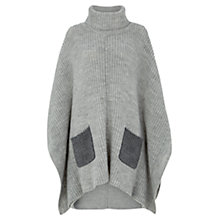 Buy Damsel in a dress Cara Poncho, Grey Online at johnlewis.com