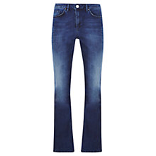 Buy Mint Velvet Hartford Flare Jeans, Blue Online at johnlewis.com