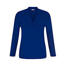 Buy Hobbs Aimee Top, Dark Cobalt Online at johnlewis.com