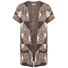 Buy Miss Selfridge Patterned Cardigan, Multi Online at johnlewis.com