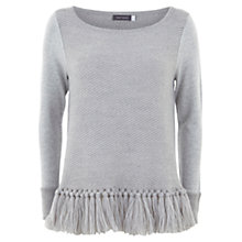 Buy Mint Velvet Fringe Hem Knit Top Online at johnlewis.com