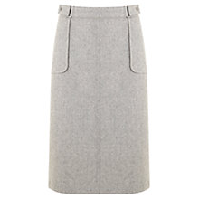 Buy Mint Velvet 70s Midi Skirt, Grey Online at johnlewis.com