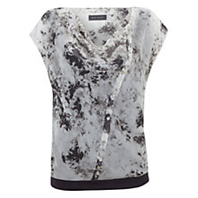 Buy Mint Velvet Anise Print Cowl Neck Blouse, Multi Online at johnlewis.com