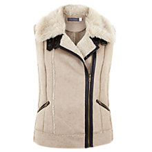 Buy Mint Velvet Suedette Gilet, Multi Online at johnlewis.com
