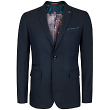 Buy Ted Baker Bayvil Birdseye Suit Jacket, Dark Green Online at johnlewis.com