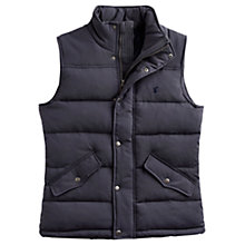 Buy Joules Harkley Quilted Gilet, Grey Online at johnlewis.com