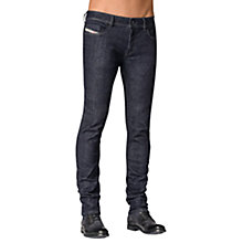Buy Diesel Sleenker Slim Everspring Jeans, Raw Blue Online at johnlewis.com