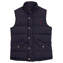 Buy Joules Harkley Quilted Gilet, Navy Online at johnlewis.com