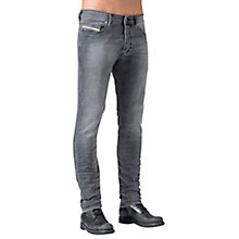 Buy Diesel Tepphar 662U Slim Jeans, Grey Online at johnlewis.com