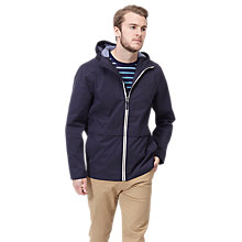 Buy Joules Salterton Zip Up Jacket, Navy Online at johnlewis.com