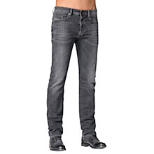 Buy Diesel Buster 669F Tapered Jeans, Grey Online at johnlewis.com