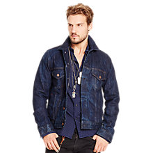 Buy Denim & Supply Ralph Lauren Denim Trucker Jacket Online at johnlewis.com