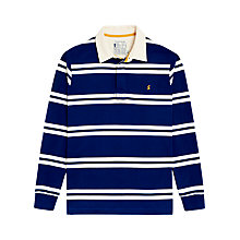 Buy Joules Rory Striped Rugby Shirt, Ink Blue Online at johnlewis.com