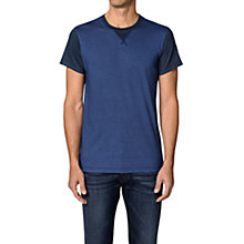 Buy Diesel T-alcor Sweat Style Tee, Denim Blue Online at johnlewis.com