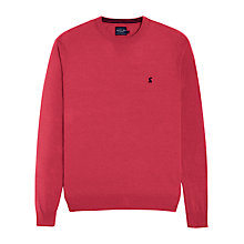 Buy Joules Retford Crew Neck Jumper, Pink Online at johnlewis.com