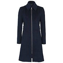 Buy French Connection Atomic Coating Coat, Nocturnal Online at johnlewis.com