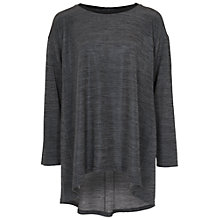 Buy French Connection Lacquered Top, Mercury Mist Online at johnlewis.com