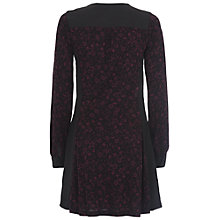 Buy French Connection Berry Daisy Floral Dress, Black Online at johnlewis.com