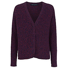 Buy French Connection Naughty Brights Cardigan, Biker Berry Online at johnlewis.com