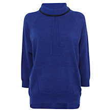 Buy Karen Millen Lightweight Sport Knit, Blue Online at johnlewis.com