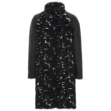 Buy French Connection Penny Coat, Black Online at johnlewis.com