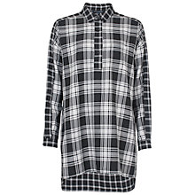 Buy French Connection Lakeside Check Shirt, Black/White Online at johnlewis.com