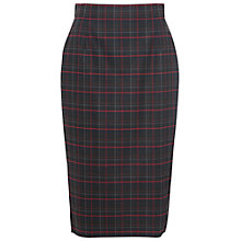 Buy French Connection Soho Check Pencil Skirt, Multi Online at johnlewis.com