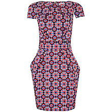 Buy Closet Mosaic Print Tie Back Dress, Multi Online at johnlewis.com