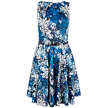 Buy Closet Floral Belted Skater Dress, Multi Online at johnlewis.com