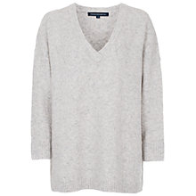 Buy French Connection Flossy Knitted Jumper, Oatmeal Online at johnlewis.com
