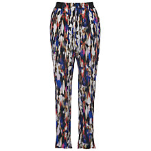 Buy French Connection Record Ripple Drape Trousers, Multi Online at johnlewis.com